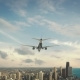 Airplane Landing Chicago Michigan USA - VideoHive Item for Sale