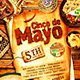 Cinco de Mayo Party Poster vol.8