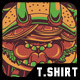 Yoga Burger T-Shirt Design - GraphicRiver Item for Sale