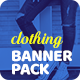 Clothing Banner Pack - GraphicRiver Item for Sale