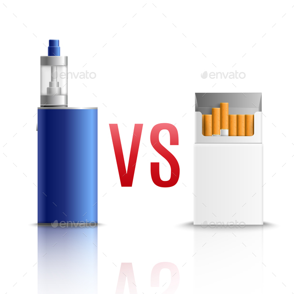 Cigarettes Vs Vaping - Man-made Objects Objects