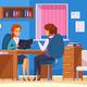 Office Job Talk Composition