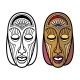 Tribal Masks Isolated - GraphicRiver Item for Sale