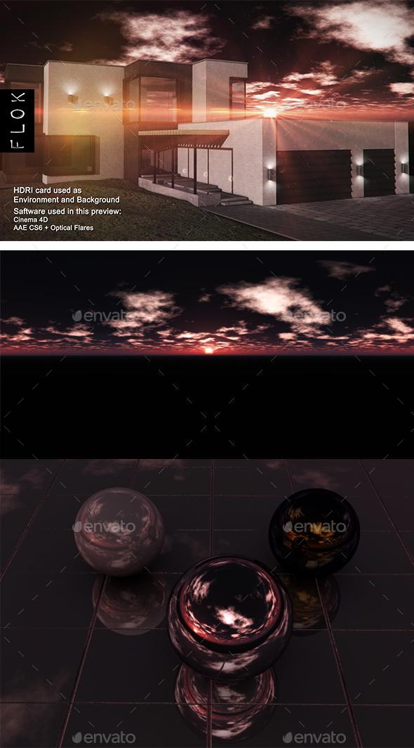 Sunset Desert 109 - 3DOcean Item for Sale