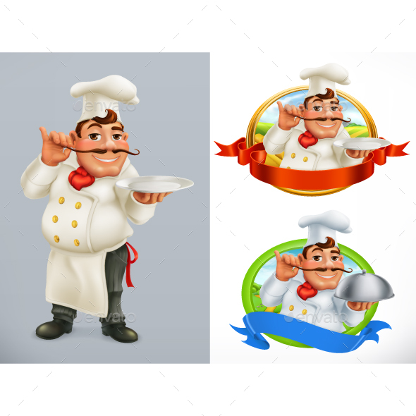 Cook or Chef - People Characters