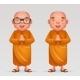 Buddhist Monk Traditional Asian Buddhism