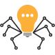 Spider Light Bulb Logo - GraphicRiver Item for Sale