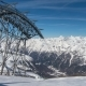 Ski Lift in the Alps During Skiing Season - VideoHive Item for Sale