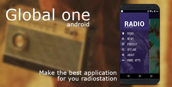 Global (single radio station) Android - CodeCanyon Item for Sale