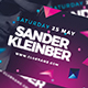 Dj Guest Facebook Cover - GraphicRiver Item for Sale