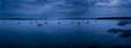 fog on glassy water with sailboats, panoramic shot. - PhotoDune Item for Sale