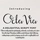 Octavia Script Font