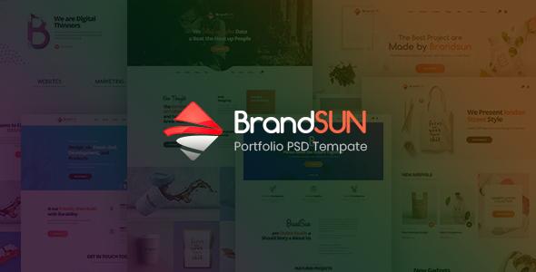 Brandsun – Multi-Purpose PSD Template