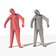 Low Poly Posed People Pack 10 - Zombie - 3DOcean Item for Sale