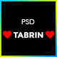 Tabrin - Corporate PSD Template