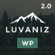 Luvaniz - Creative One Page WordPress Theme - ThemeForest Item for Sale
