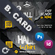 T-Shirt Business Card Templates - GraphicRiver Item for Sale