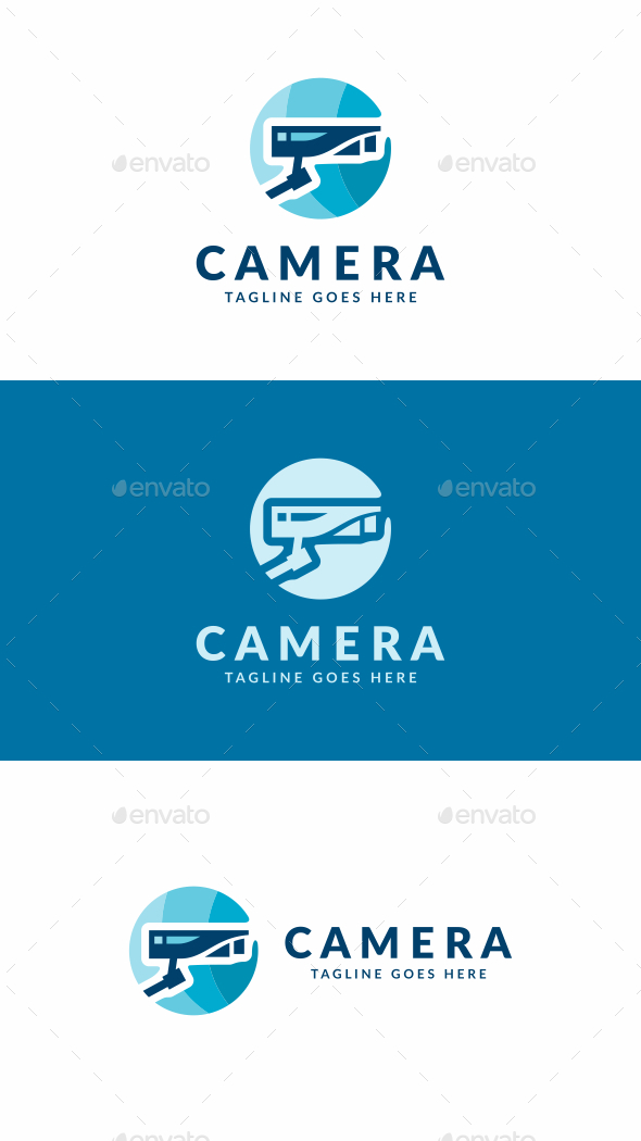 Security Camera - Objects Logo Templates
