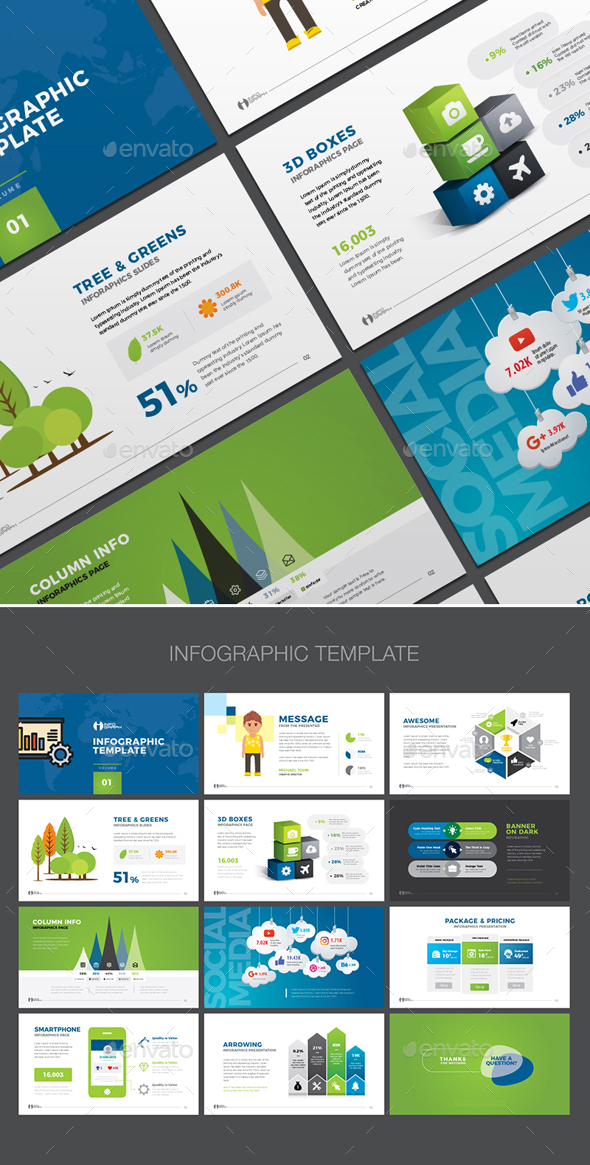 Infographic Elements 2 - Infographics