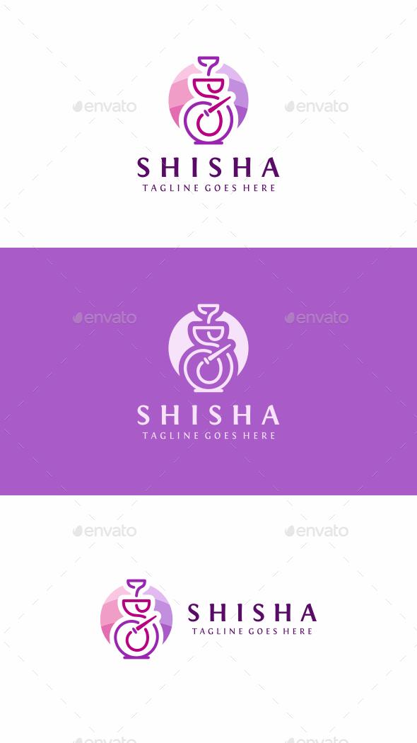 Shisha Bar - Objects Logo Templates