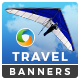 Travel & Tourism HTML5 Banners - 7 Sizes