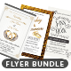 Wedding Flyer Template Bundle