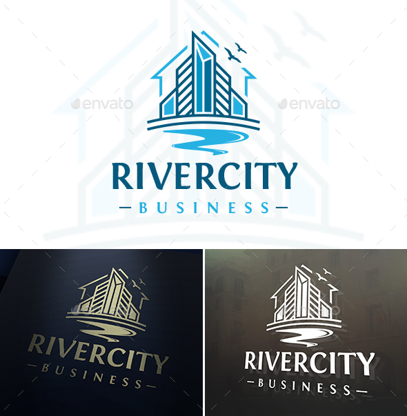 River City Logo - Buildings Logo Templates