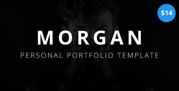 Image of Morgan - Personal Portfolio Template