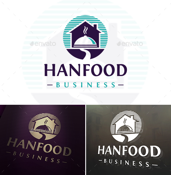 Food Delivery Logo - Restaurant Logo Templates
