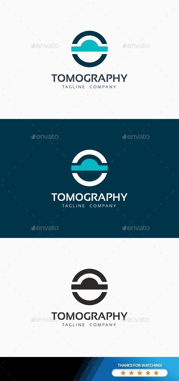 CT MRI Tomography Logo - Symbols Logo Templates