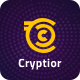 Cryptior - Bitcoin and Cryptocurrency PSD Template