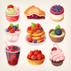 Forest Fruit Desserts - GraphicRiver Item for Sale