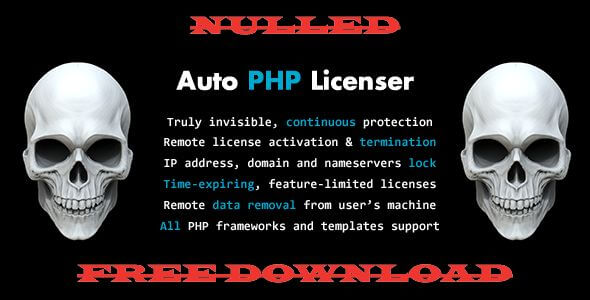 Auto PHP Licenser - CodeCanyon Item for Sale