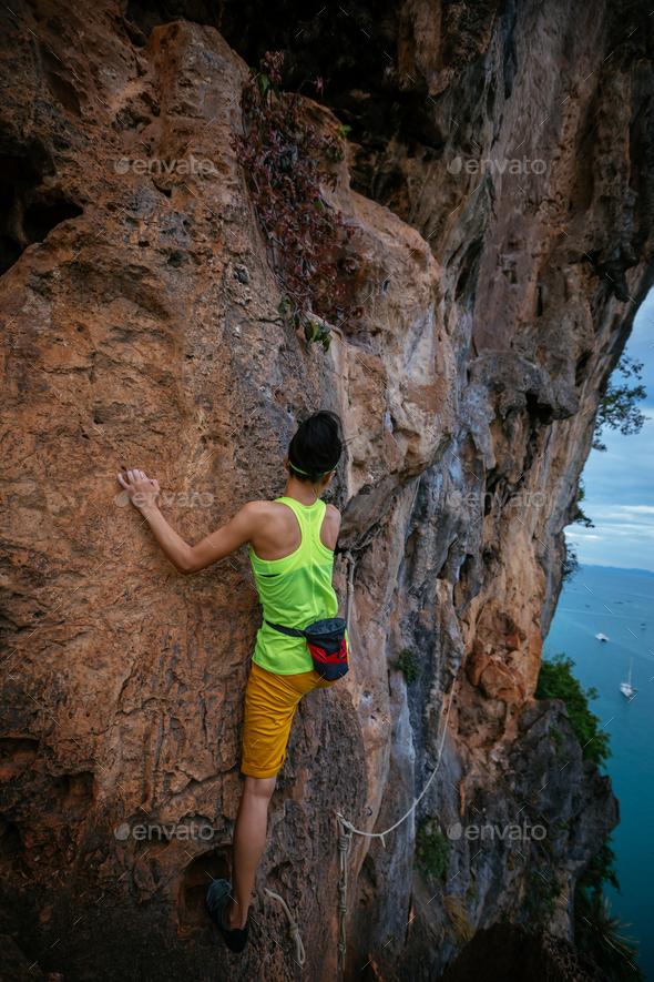 Rock climber - Stock Photo - Images