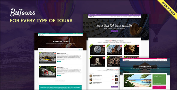 BESTOURS - Travel Multipurpose WordPress Theme - Travel Retail