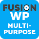 Fusion – Responsive Multipurpose WordPress Theme - ThemeForest Item for Sale