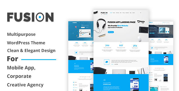 Fusion – Responsive Multipurpose WordPress Theme - Software Technology