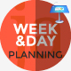 Week and Day Planning Keynote Presentation Template - GraphicRiver Item for Sale