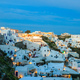 Santorini island, Greece - Caldera over Aegean sea at evening - PhotoDune Item for Sale