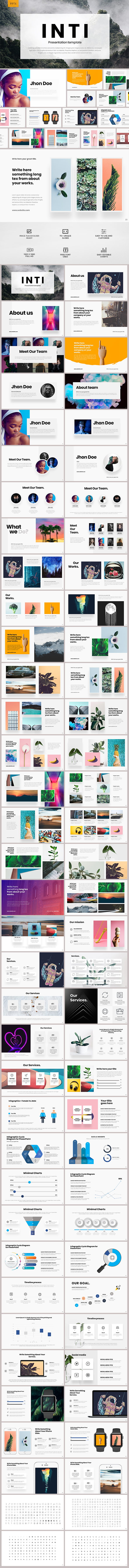 Inti Powerpoint Template - PowerPoint Templates Presentation Templates