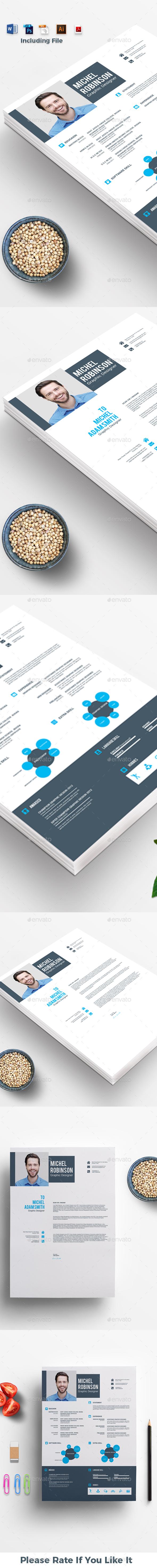 Resume CV - Stationery Print Templates