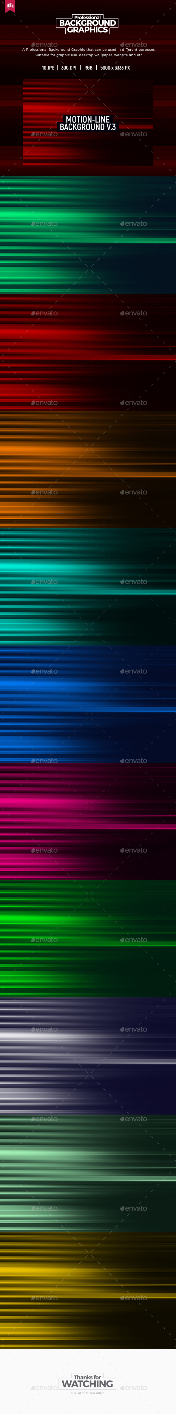 Motion Line - Background V.3 - Abstract Backgrounds
