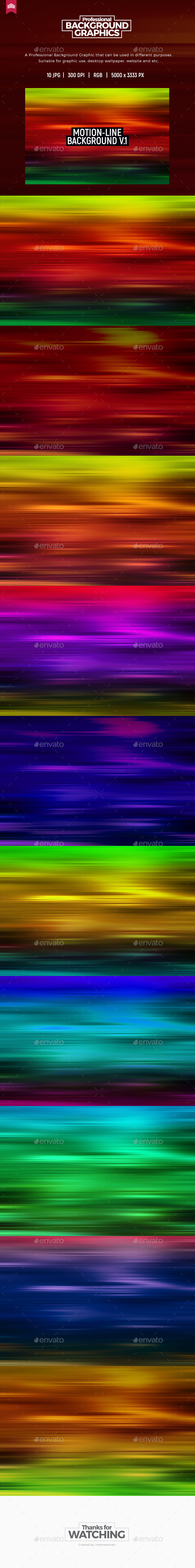 Motion Line - Background V.1 - Abstract Backgrounds