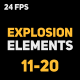 Liquid Elements 2 Explosions 11-20 - VideoHive Item for Sale