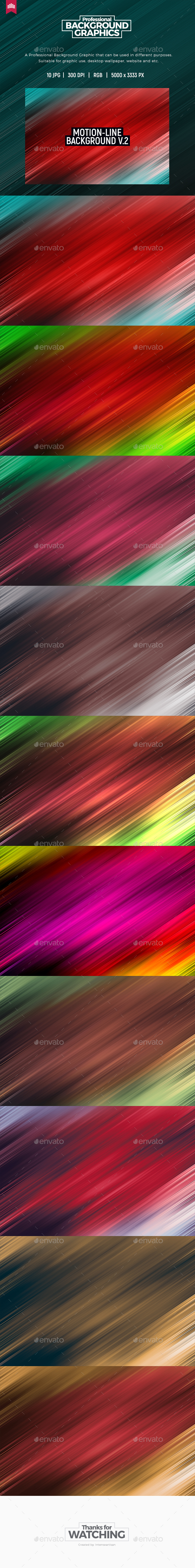Motion Line - Background V.2 - Abstract Backgrounds