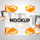 Note Pad Holder & Notes Mockup - GraphicRiver Item for Sale