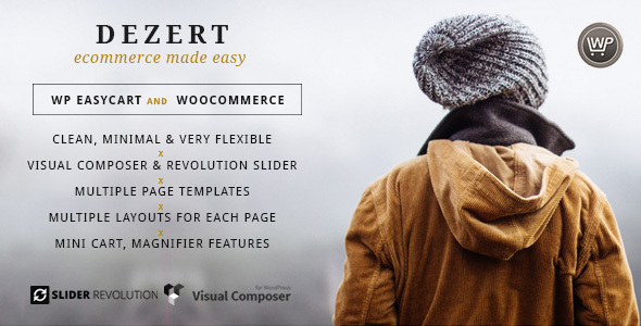 Dezert EasyCart & WooCommerce Shopping Theme - Retail WordPress