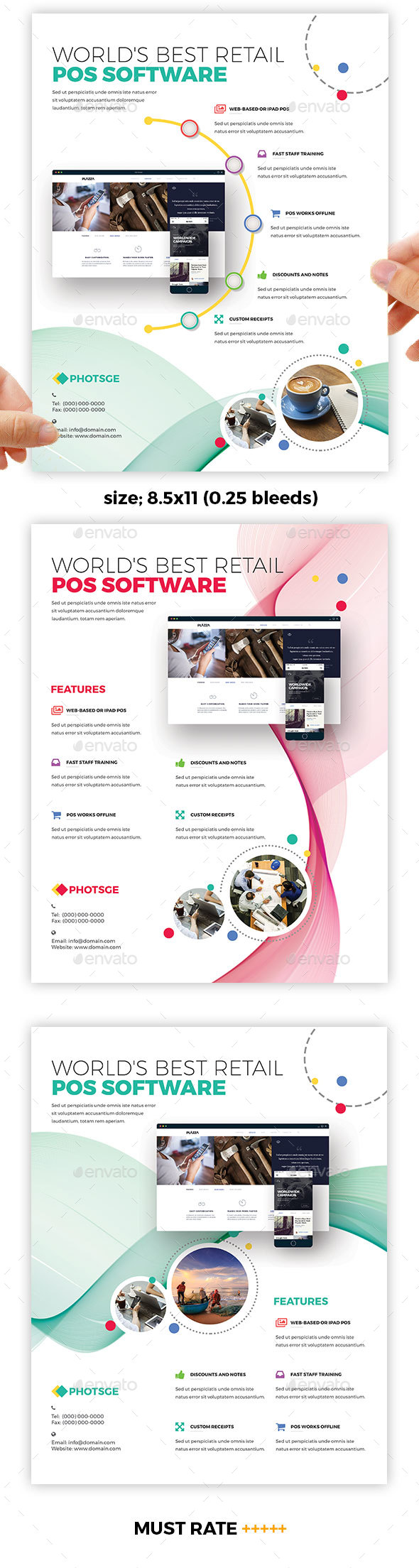 POS Flyer Templates - Corporate Flyers