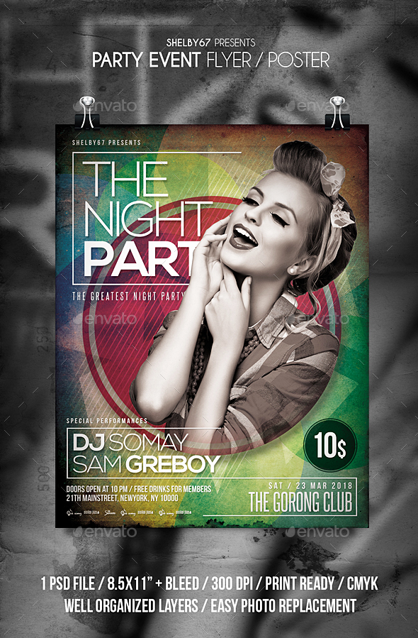 Party Event Flyer - Events Flyers