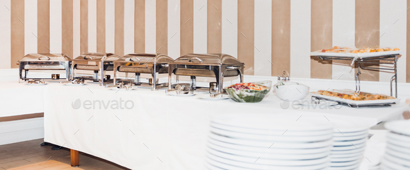 Lunch Catering - Stock Photo - Images
